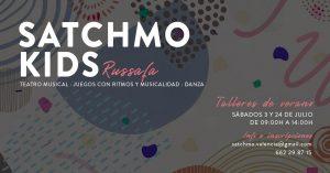 ¡SATCHMO KIDS : Bienvenidos a los pequeños artistas! @ Satchmo Swing School   València   Comunidad Valenciana   España